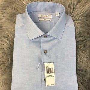 Michael Kors Mens 17 - 17.5 34 35 XL Dress Shirt